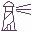 house, light, light house, sea tower, tower icon icon