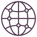 global business, global communication, network icon icon