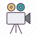 .svg, camcorder, camera, film, filmmaking, movie, production, video icon icon