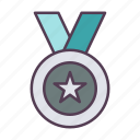 .svg, award, gold, medal, star, winner icon icon