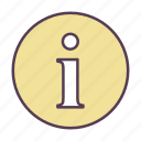 about, help, info, information icon icon