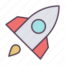 .svg, launch, rocket, ship, space, spaceship, transportation, travel icon icon
