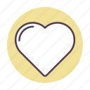 dating, favorite, heart, like, love, relationship, romance icon icon