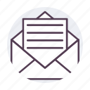 email, email message, letter, mail icon icon