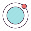 astronomy, cosmos, jupiter, planet icon icon