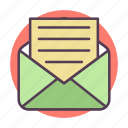 email, envelope, letter, mail, message, messages, send icon icon
