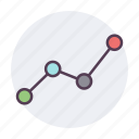 analytics, graph, report, statistics icon icon