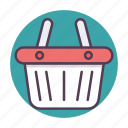 basket, shop, shopping, store icon icon