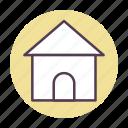 estate, home, house, real icon icon