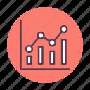 analysis, analytics, chart, diagram, graph, report, statistics icon icon
