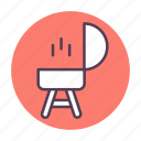 barbecue, barbecue grill, cook, cooking, grill icon icon