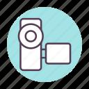 camera, film, media, video icon icon
