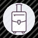 bag, baggage, luggage, travel icon icon