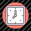 alarm, alert, clock, event, history, schedule, watch icon icon
