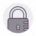 lock, security, theft, unlock, unlocked, unsafe, unsecure icon icon