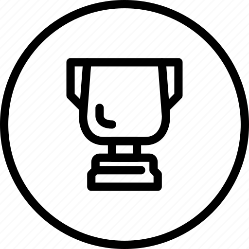 achivement, circle button, interface, prize, winner icon