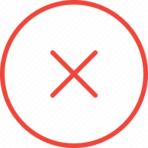Abort, cancel, cross, no, wrong icon - Download on Iconfinder