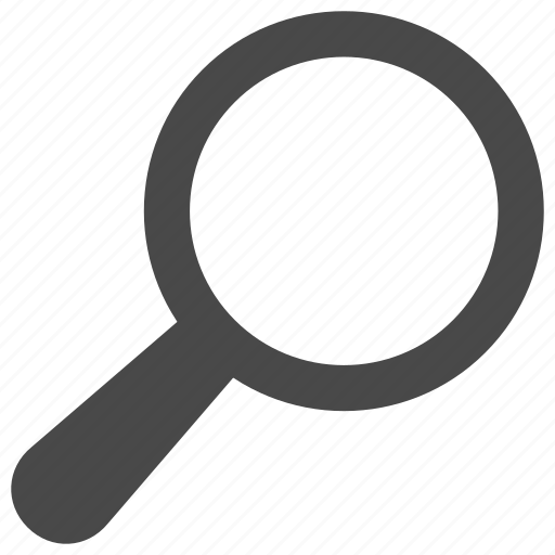 find, magnifier, magnify, search, zoom icon