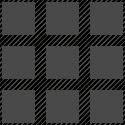 grid, menu, tile icon