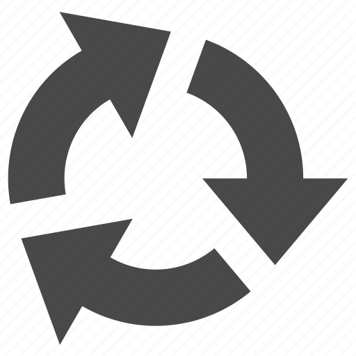 arrow, arrows, recycle, refresh, reload icon