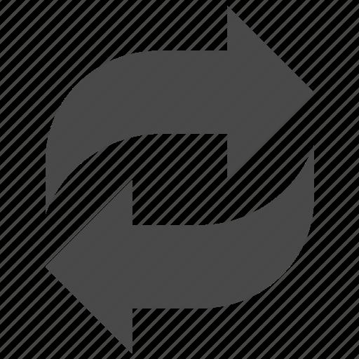 arrow, arrows, recycle, refresh, reload, renew icon