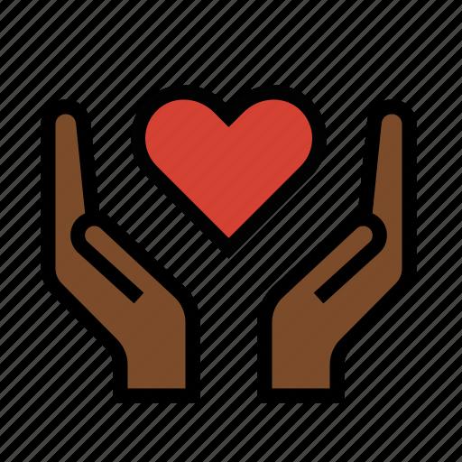 care, compassion, empathy, healing, love icon