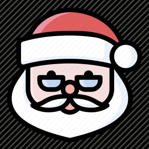 christmas, holidays, santa, santa claus, santa claus icon icon