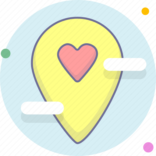 location, marker, navigation icon