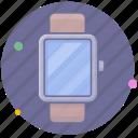 clock, intelligent, smartwatch, watch icon