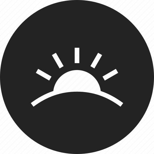 sun, sunrise, sunset icon