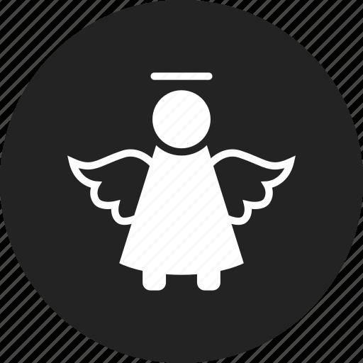 angel, cherub, christmas, cupid icon