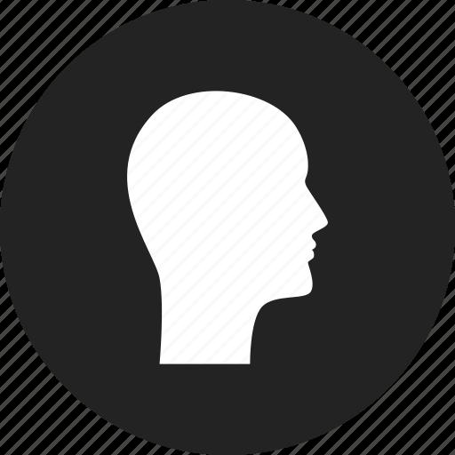 avatar, head, profile, user icon
