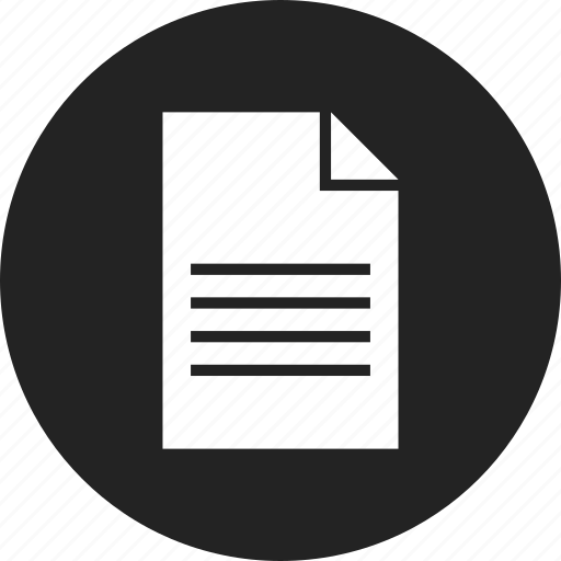 blank, document, file, paper icon