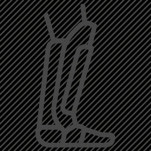 leg, martial arts, mma, protection icon