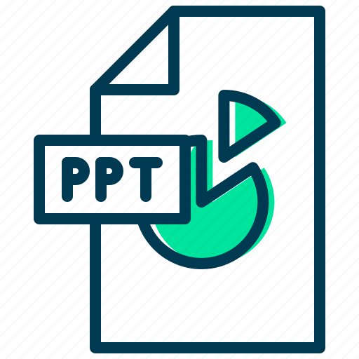 file, microsoft, point, power, presentation icon