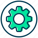 cogwheel, configuration, gear, options, preferences, settings icon