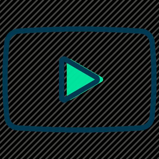 arrow, audio, music, play, sign icon