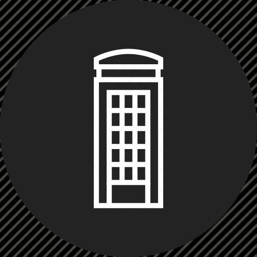 box, london, phone icon