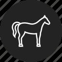 horse, pony icon