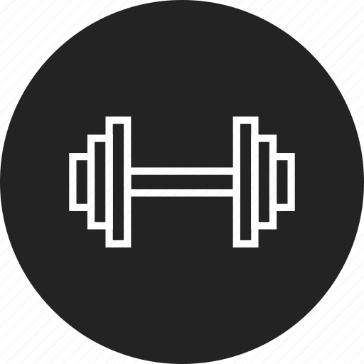 barbell, dumbbell, fitness, gym icon