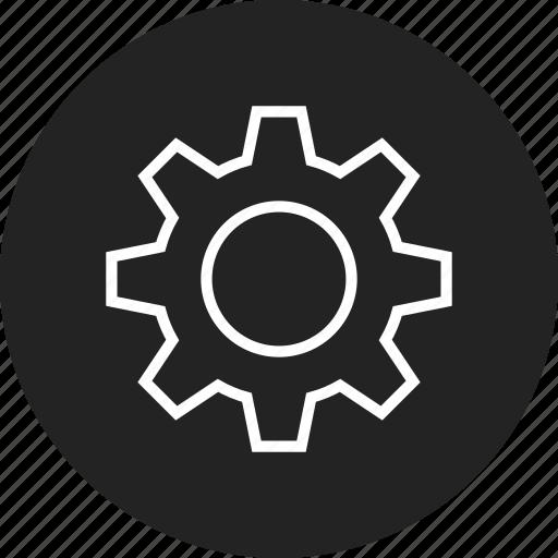 cogwheel, gear, gearwheel, settings icon