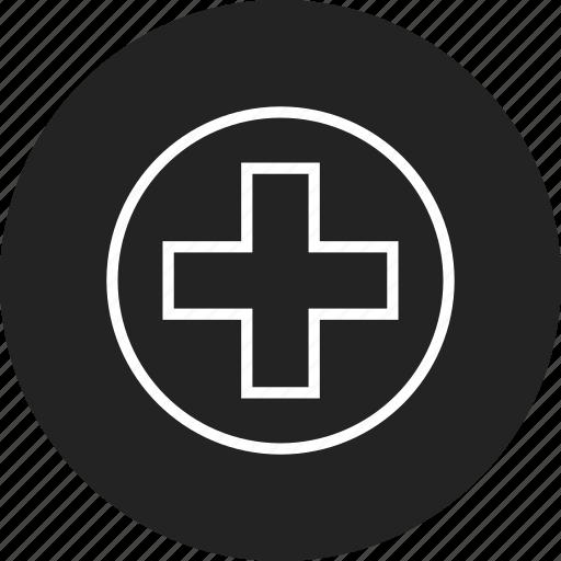 cross, medical icon