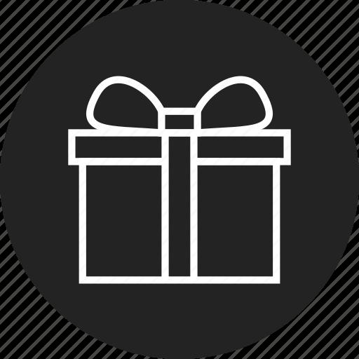 box, gift, present icon