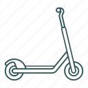 active, play, scooter, toy, transportation icon icon