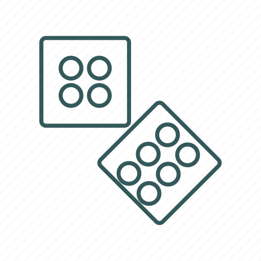 active, dice, game, isometric icon icon