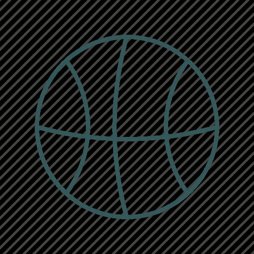 active, ball, basketball, game, play icon, sport icon