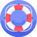 buoy, help, lifebuoy, lifesaver, support icon