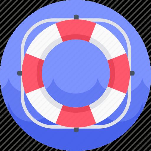 buoy, help, lifebuoy, lifesaver, support icon