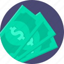 cash, dollar, money, pay, payment icon