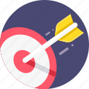 aim, bullseye, darts, goal, marketing, target icon